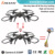 High set function 2.4G 4ch rc quadcopter helicopter with headless mode