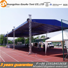 Movable outdoor galvanized stage truss system circus tent truss for sale