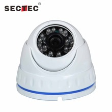 China Wholesale Sectec 2MP Top 10 CCTV Dome 1080P AHD CCTV Camera CE,FCC,ROHS Certification