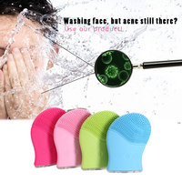 SILICONE Sonic Facial Cleansing Brush