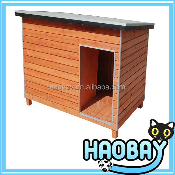 Special Design Elegant Style Fir Simple Wooden Dog Cage,Pet wooden house