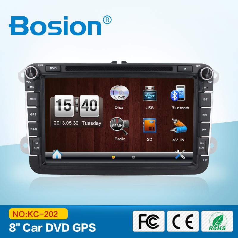 Best 8'' Touch Screen DVD GPS Car Stereo for Volkswagen VW with CANBus Optional