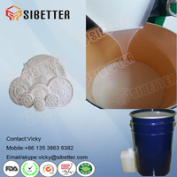 RTV2 Mold Making Liquid Silicone Rubber Make 3D Molds for Plaster Crafts