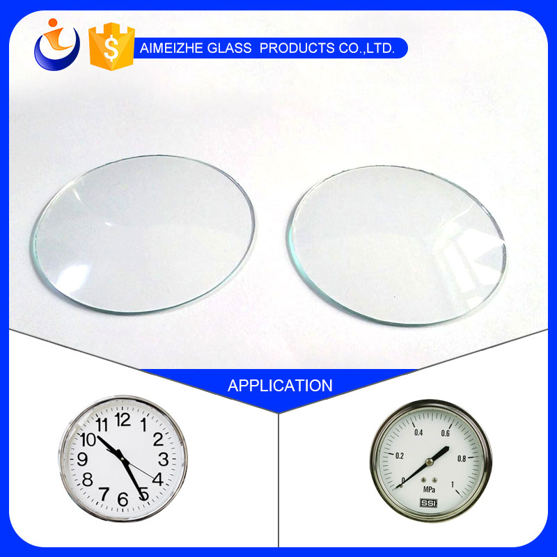 Professional factory custom high quality convex watch glass