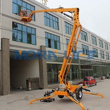 Morn Brand 8m small pickup articulating boom lift