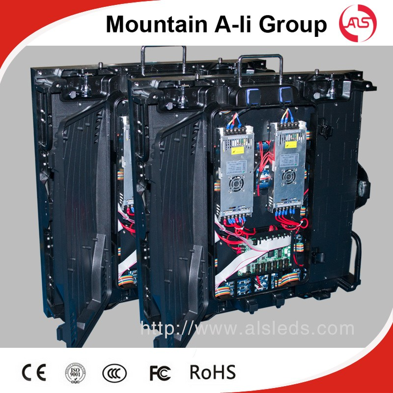 Mountain A-Li DIP 3In 1 P6 Outdoor LED Display ( Die Casting Aluminum Cabinets)