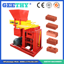 eco brava plus clay brick making press/brick manufacturing process