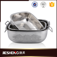 Colander strainer cheap pasta colander stainless steel function