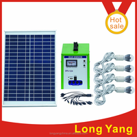 30w portable solar generator led light for home electronics use