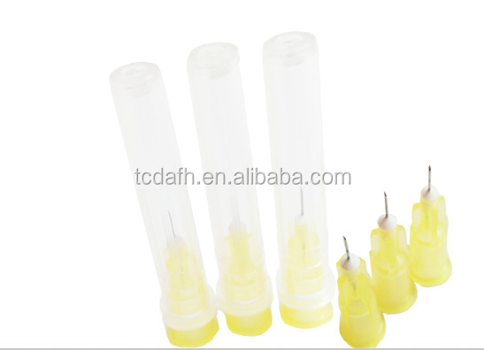 ultra-thin wall stainless steel mesotherapy injection needle for less bleeding/ Pdo Thread Lift
