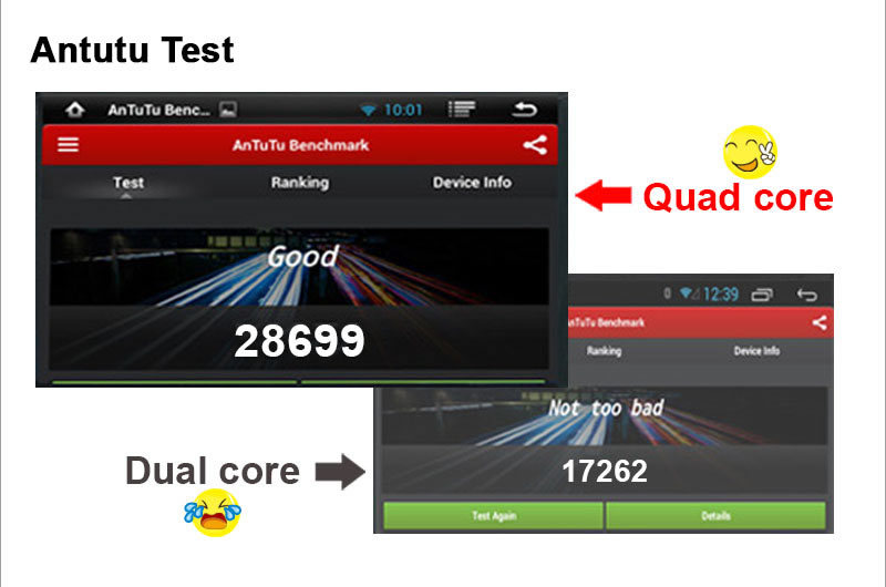 Ownice Quad Core Android 4.4.2 C200 car headrest dvd player for vw Cortex A9 1.6GHz 2GB DDR3