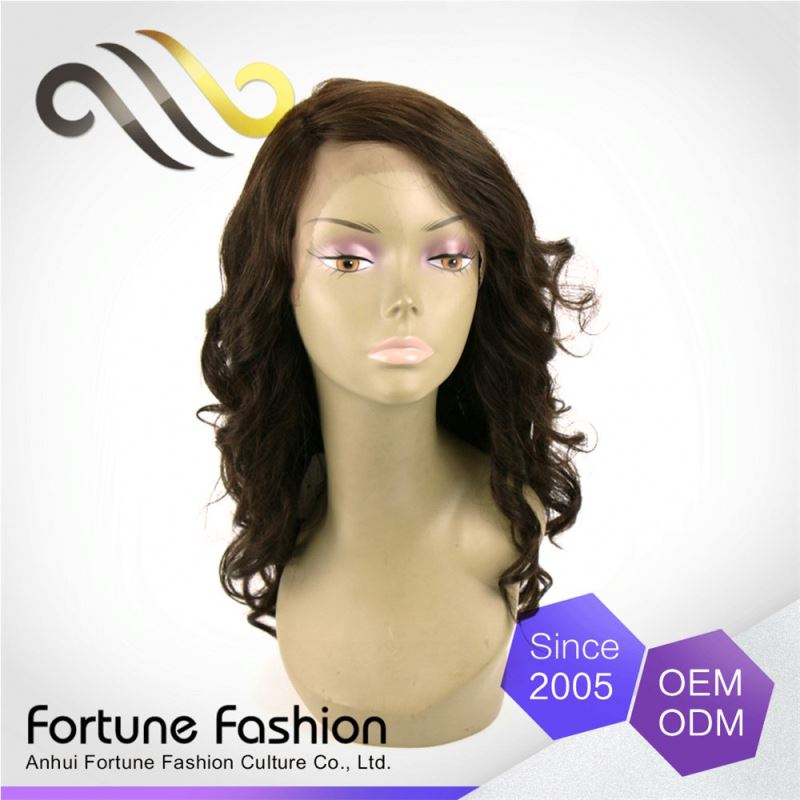 Original Brand Elegant Top Quality Natural Sleek Wig Manufacturers