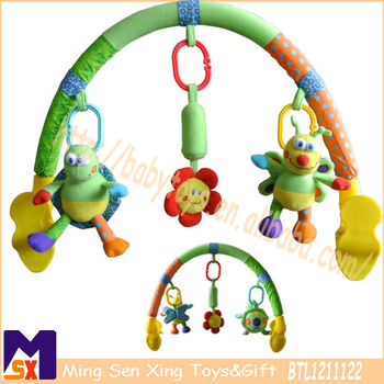 arch toys for stroller baby carriage and car seats,stroller arch toys,baby stroller arch