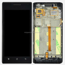 OEM for Huawei Ascend P1 U9200 LCD display touch screen digitizer with frame assembly