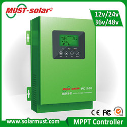 High Efficiency 36V MPPT Solar Charge Controller 60A for 12V Battery