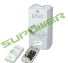 Clipsal Weatherpoof Isolator 4 Pole 20A Isolating Switch