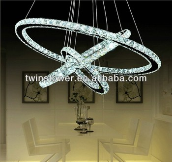 modern crystal led chandelier r