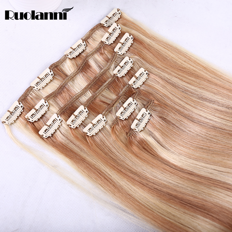 Clip In Malaysian Hair Extensions Channel 2016 Top Quality