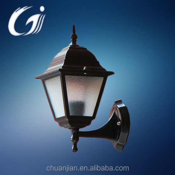 Changzhou Outdoor LED Aluminum Wall lamp / Black trumpet