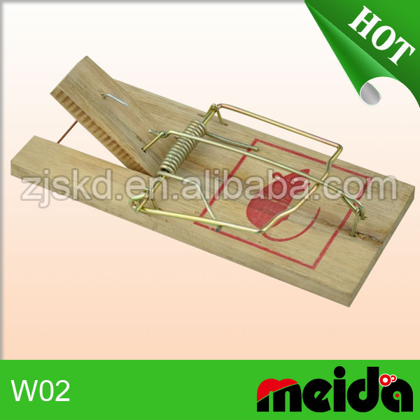 China Wholesale Mouse Glue Trap Machine Rat Trap Wooden Mice Trap