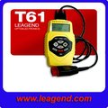 vehicle scanner OBD II car scanner T61 auto code reader for Spanish, English, French, Dutch, German