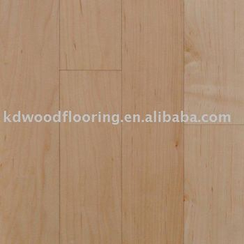 Natural color Canadian Maple Wood flooring
