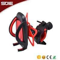 STJIE - Portable rotate cell handlebar cradle mobile bicycle phone mount holder stand for iphone/smartphone,bike phone mount