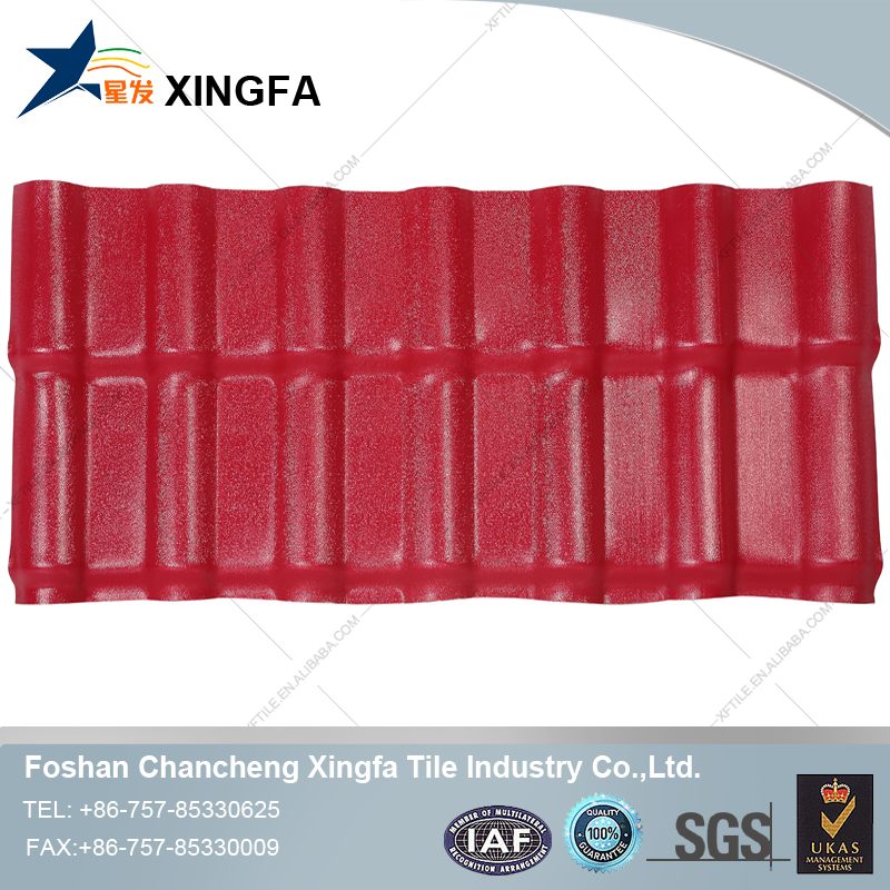 Xingfa wooden house carport roofing sheet corrugated roofing sheets