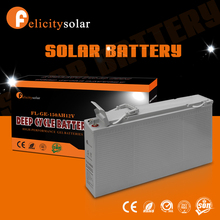 China wholesale deep cycle 150ah 12 volt solar battery for house