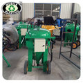 Dustless blasting equipment for steel plate surface rust removal