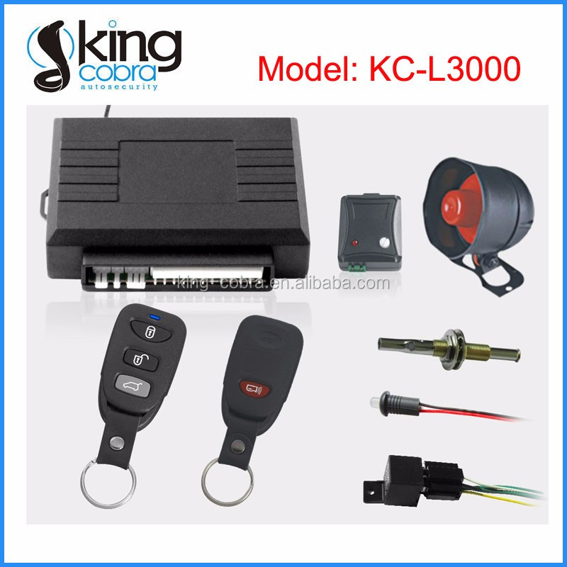 One Way Multi-function Auto Car Alarm System
