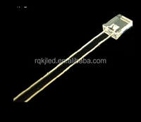2*3*4 red rectangular led diode