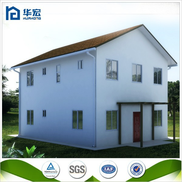 High quality strong structure two story guesthouse prefabricated