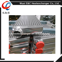 Hot Selling Painting and powder coated shell and tube water to air intercooler, design heat exchangers