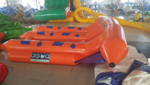 High quality water sports, towables 3 persons inflatable banana boat (Nylon & PVC)