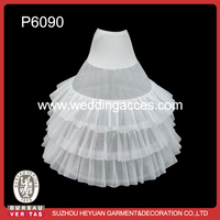 P6090 Ball Gown Wedding Petticoats for Bridal Dress