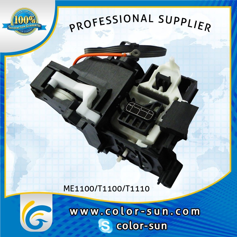original Ink System Assy Pump Assembly Capping Unit for Epson T1100 T1110 B1100 ME1100