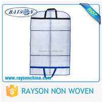 Looking Business Partner Handy Carry Foldable Non Woven Fabric Garment Bag