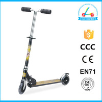 hotsale aluminum foldable push two wheels scooters scooter kickstand