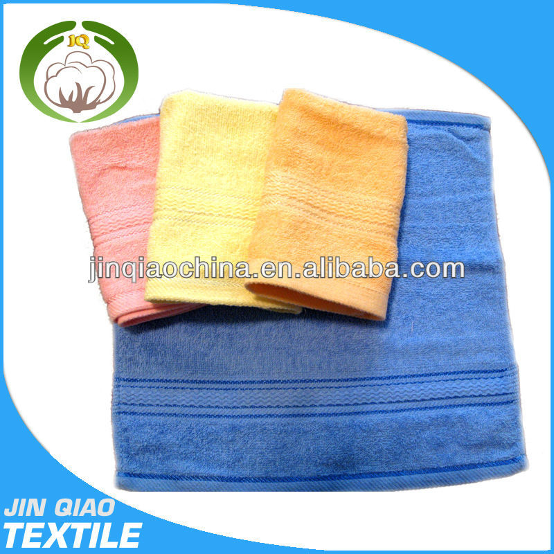 2014 Hot cotton microfibre folded compact hand towel