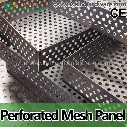 Water Circulation System Perforated Mesh Sheet , Hot Dipped Galvanized Perforated Metal Mesh/Perforated Metal Mesh Factory