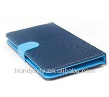 New Fashion style 7 inch tablet keyboard PU cloth case more color for your choice