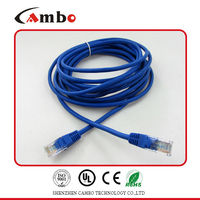 crossover Type Connection 8P8C Cat 6 Lan Cable RJ45 Patch Cable CE,UL,TIA/EIA Certified