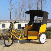 The most popular enclosed electric tricycle battery rickshaw three wheel pedicab cargo bike