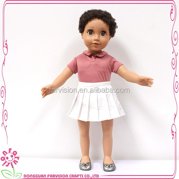 National cartoon toy collectible dolls with short hair for kids
