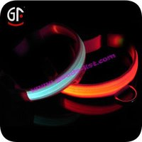 2015 Hot Sales Led Glow Dog Collars In The Dark