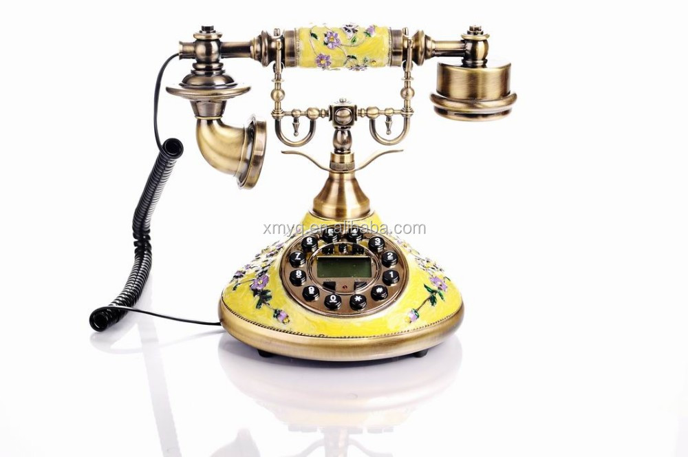 Antique telephone contact telephone number vintage home decor