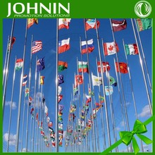 OEM Cheap Wholesale Custom Printed 100% Polyester Country Flag Banner