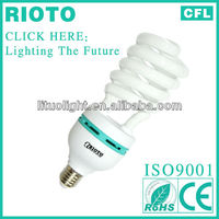 China supplier spiral 40w cfl e27 energy saving lamps/220v fluorescent light bulb