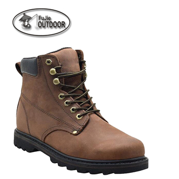 Mens leather light outdoor work Boots